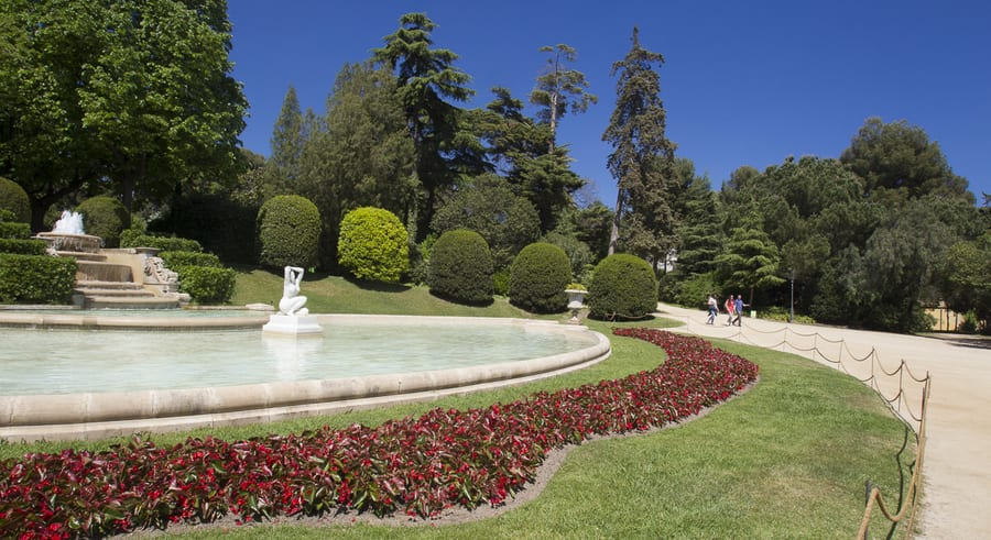Pedralbes Royal Palace gardens, places you must visit in Barcelona
