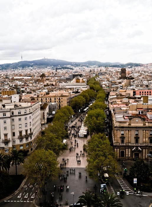 La Rambla, things to see in Barcelona
