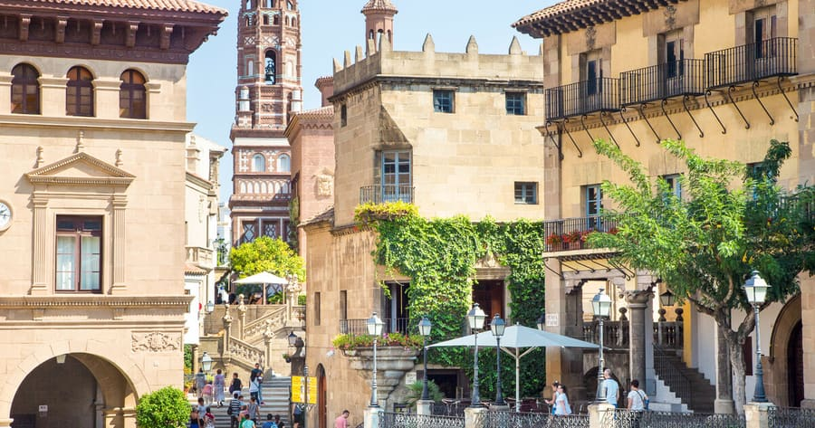 Poble Espanyol, Barcelona best things to do