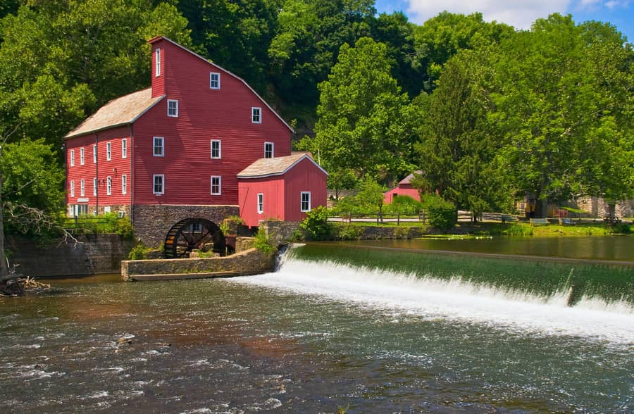21. Red Mill Museum, another interesting thing to do in New Jersey