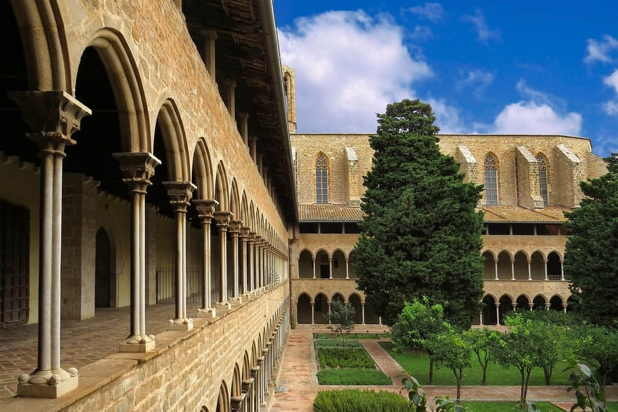 Monastery of Pedralbes, things to visit in Barcelona