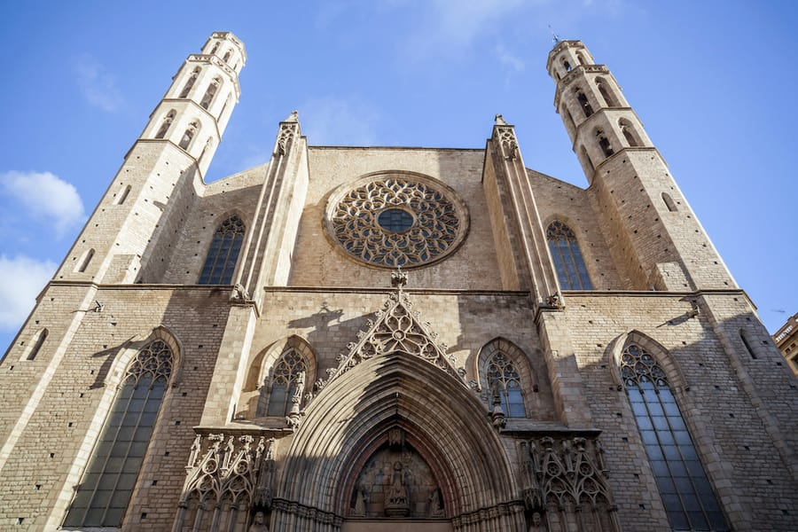 Santa María del Mar Church, what to do in barcelone