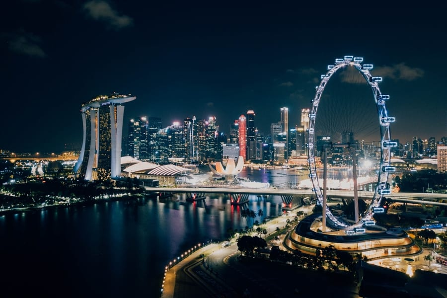Singapore Flyer, beautiful places in Singapore