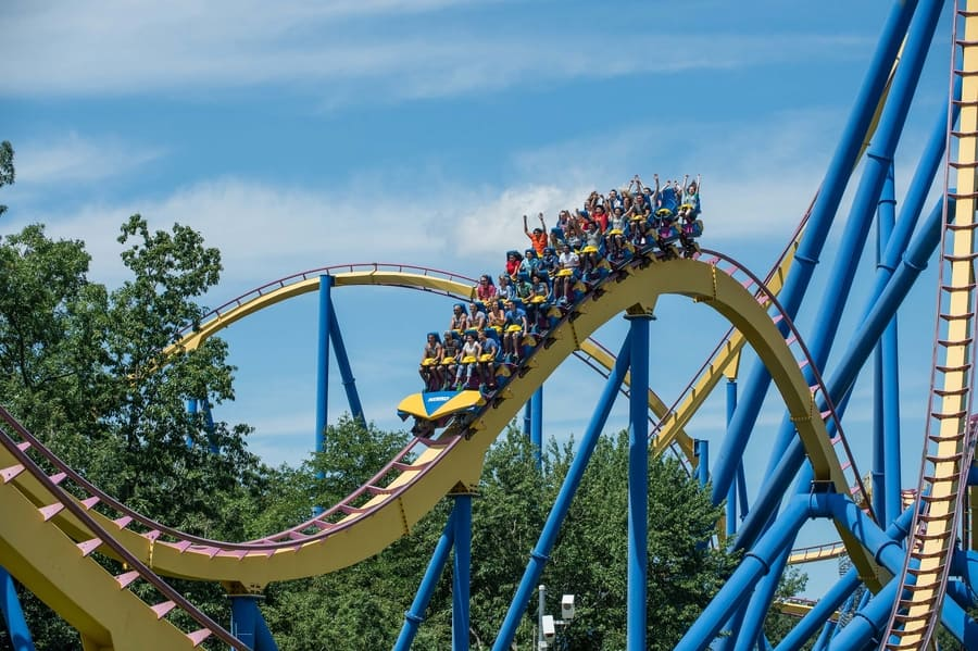 15. Six Flags Great Adventure, the best place to go in NJ with kids