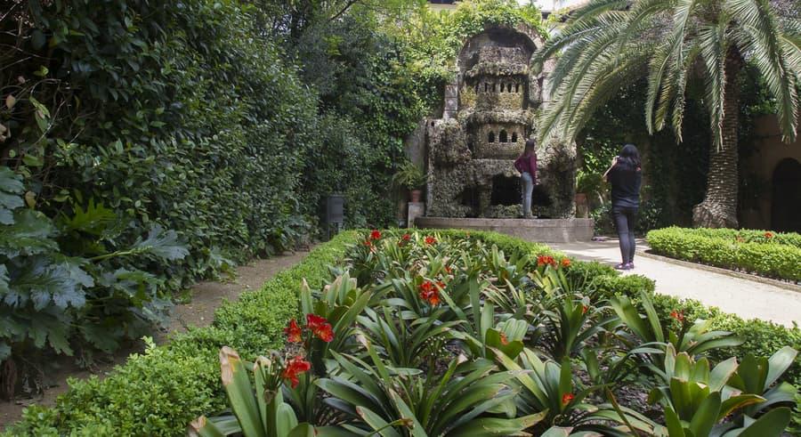 Tamarita Gardens, relaxing things to do in Barcelona