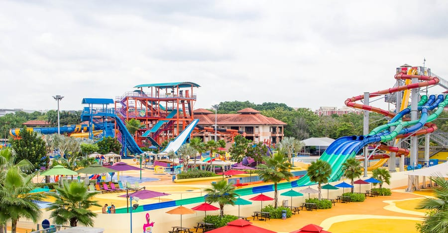 Wild Wild Wet Waterpark, things to do in Singapore with kids