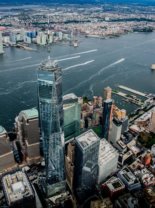 One World Trade Center Observatory, places to go in NYC