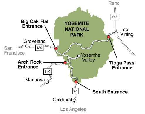 best places to stay near yosemite valley