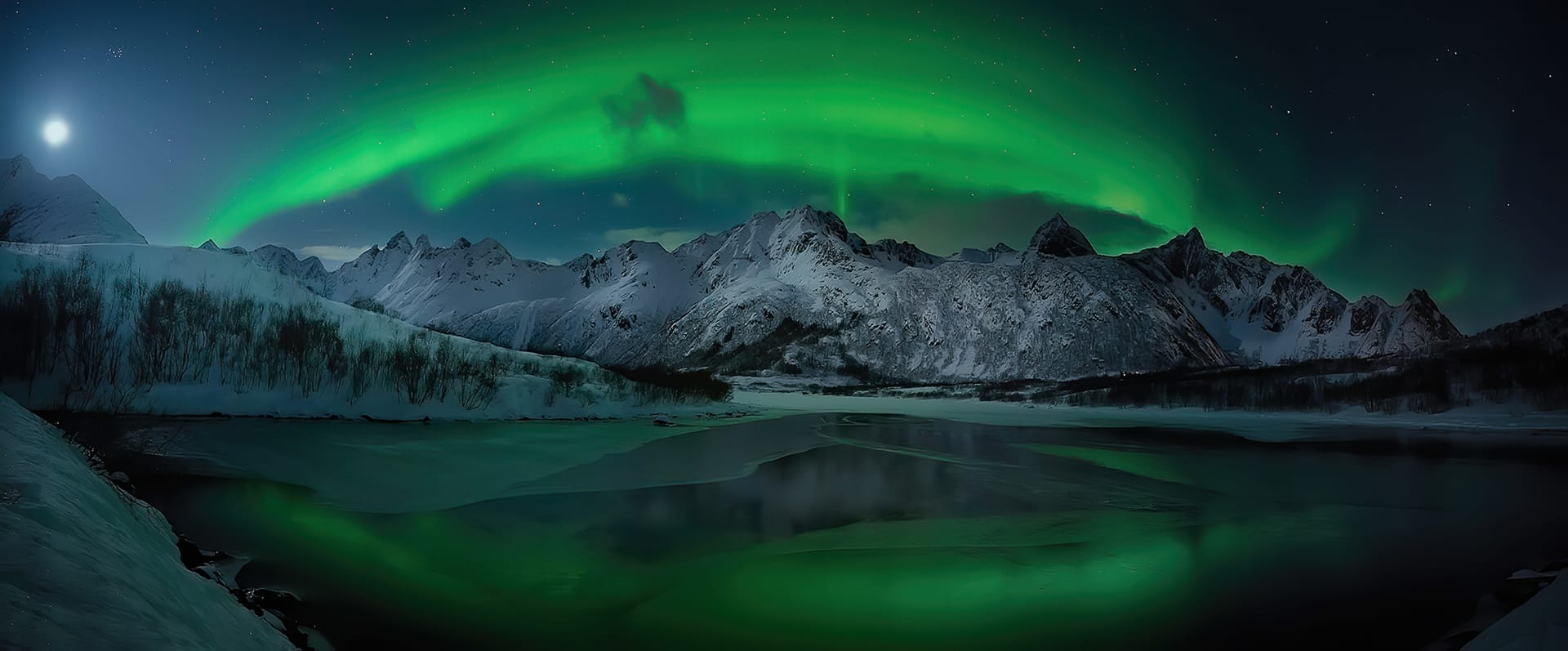 Best Northern Lights panorama images