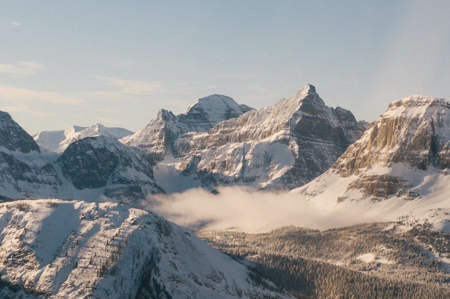 Tour en helicóptero en Banff, mejores actividades en Banff