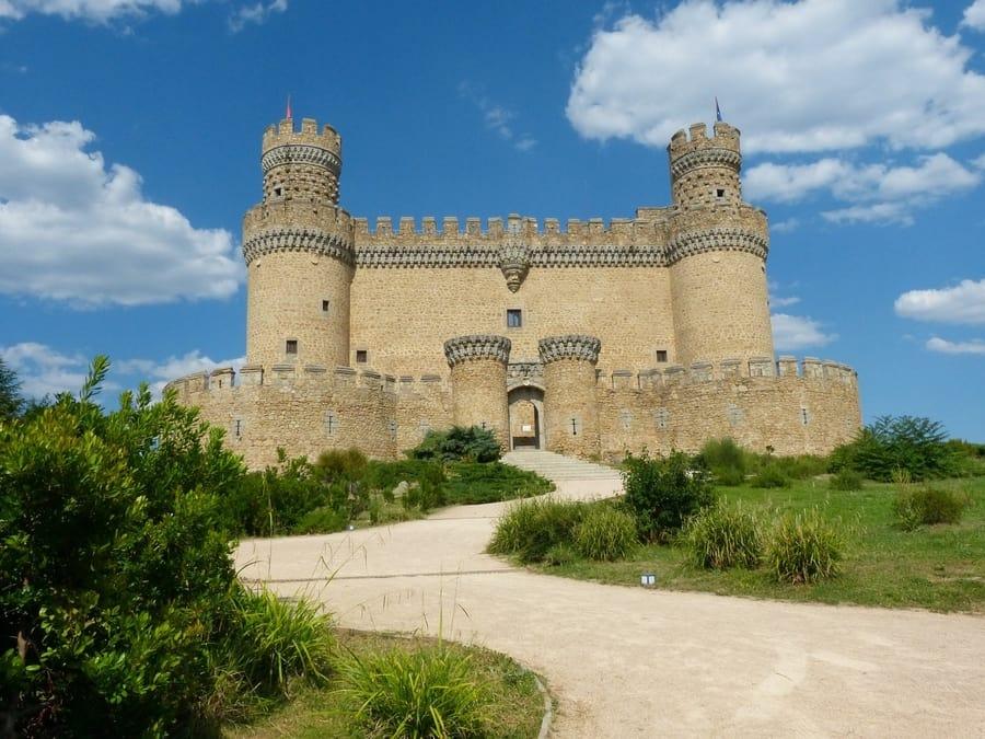 Guadarrama y Castillo de Manzanares El Real, Madrid que ver