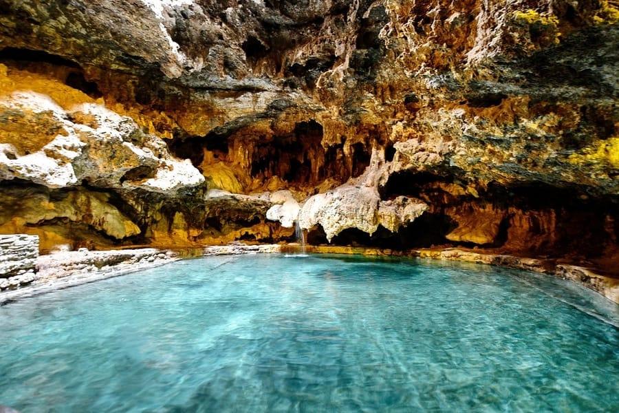 Sitio histórico nacional Cave and Basin, que ver en Banff, Canadá