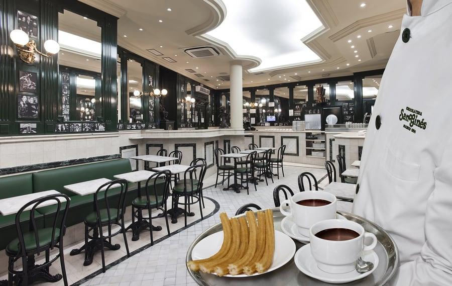 Chocolatería San Ginés de Madrid, a dónde ir en Madrid