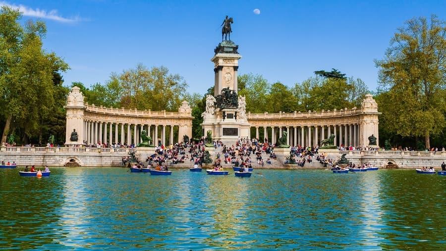 El Retiro, Madrid que ver con niños