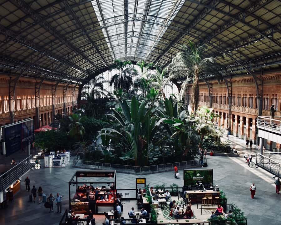 Atocha, sitios de interés en Madrid