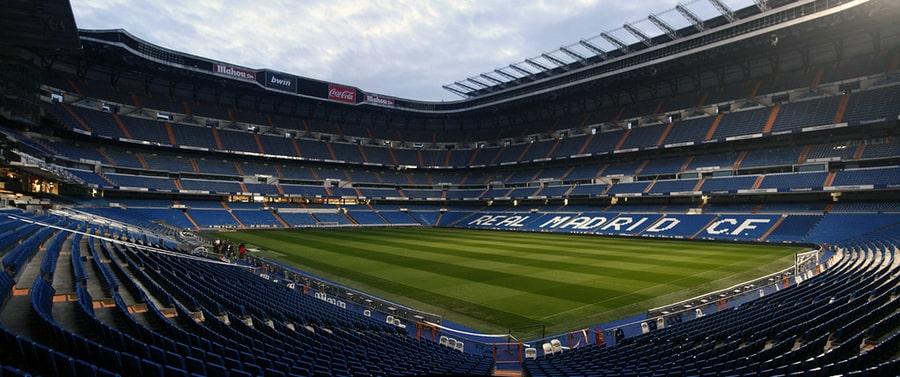 Estadio Santiago Bernabéu, lugares que visitar en Madrid, España