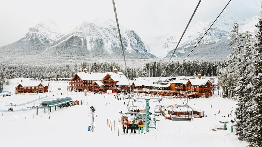 Esquiar y tubing, que hacer en Banff en invierno