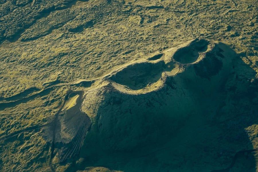 Islandia volcán tours helicóptero