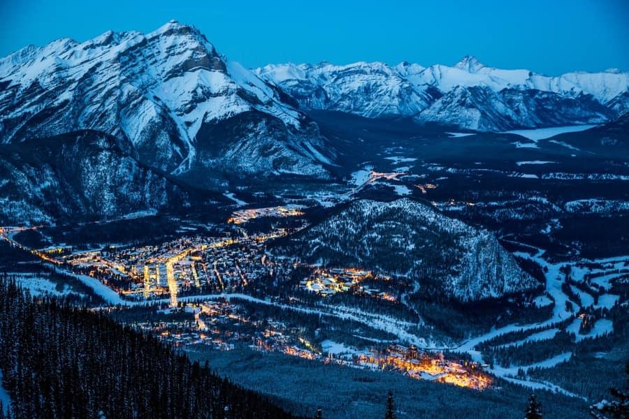 Tunnel Mountain, rutas de senderismo que hacer en Parque Nacional Banff