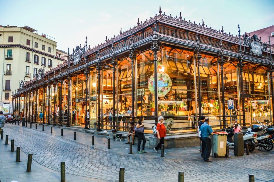 Mercado de San Miguel, Madrid atracciones turísticas