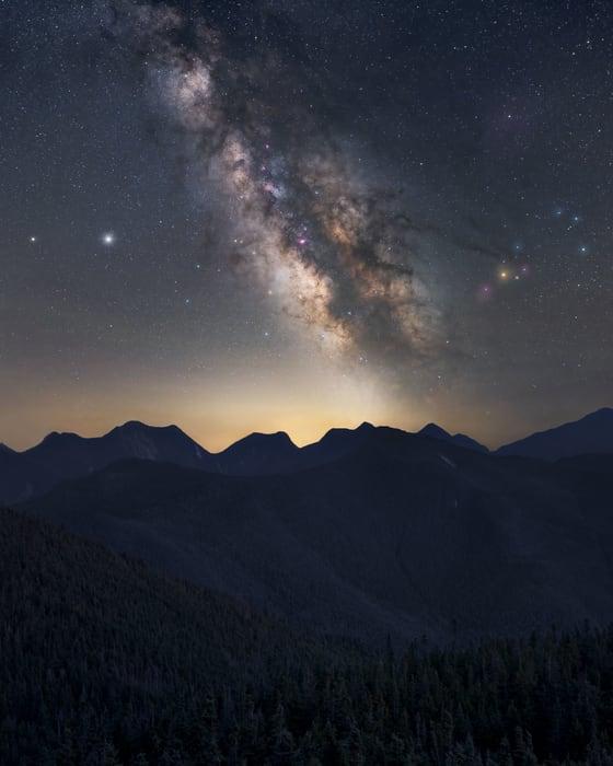 Download free Milky Way Calendar