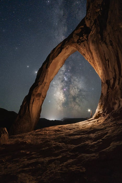 Best time to photograph the Milky Way in Utah
