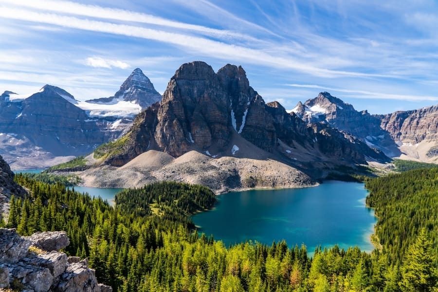 Mount Assiniboine, where to go in Banff National Park