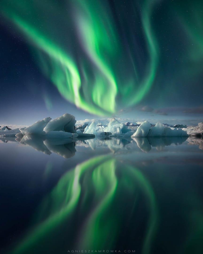Fotógrafo de Auroras Boreales del año