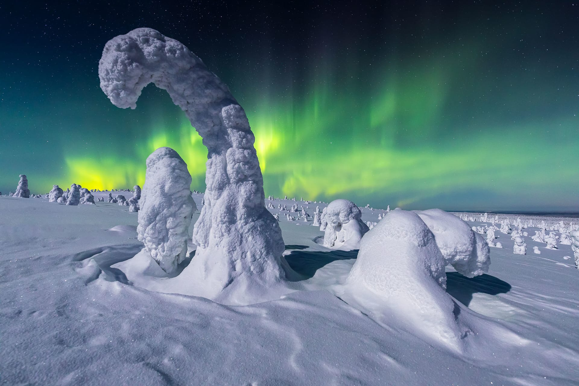 Best Northern Lights images Finland