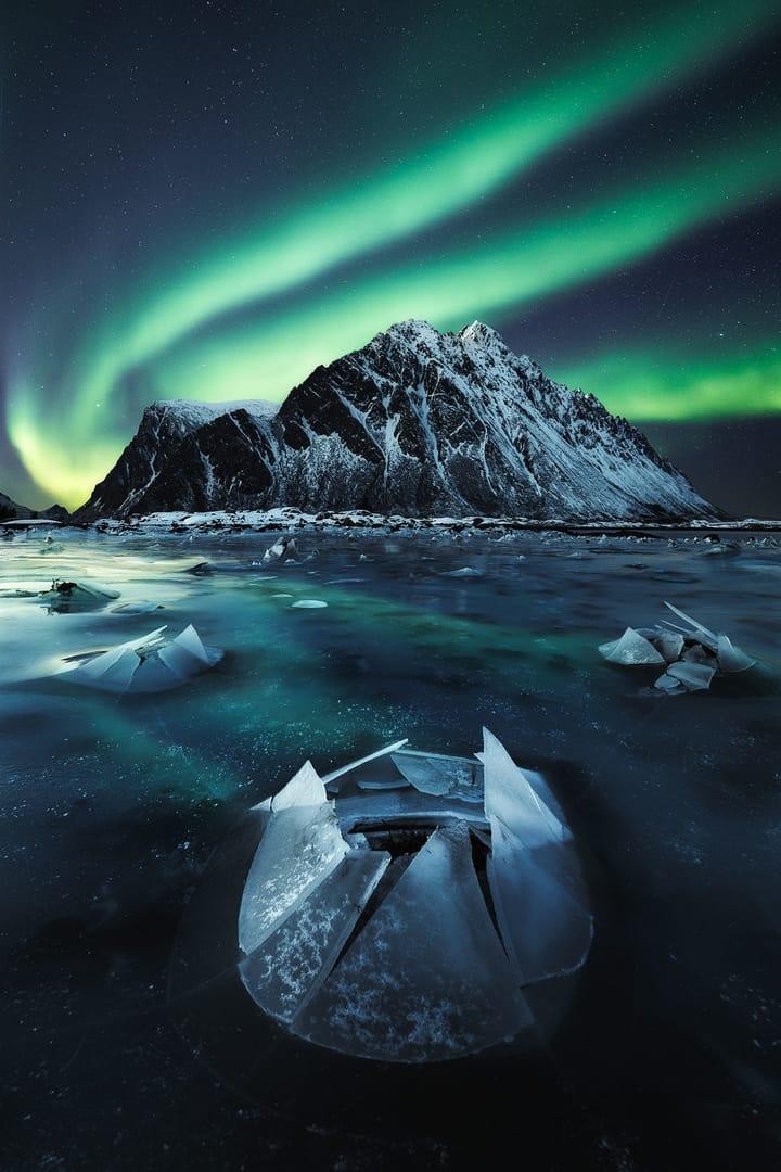 Mejores imágenes de Auroras Boreales en Lofoten