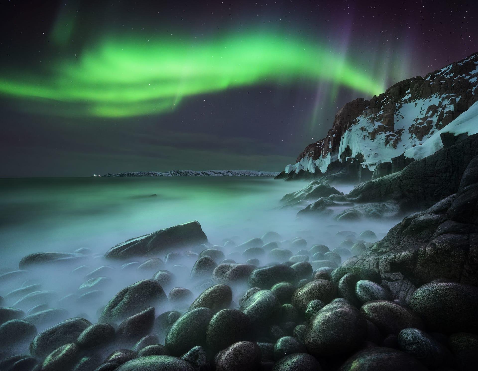 Mejores fotos Auroras Boreales en Rusia