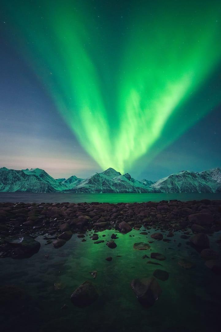 Mejores fotografías de la Aurora Boreal Tromso
