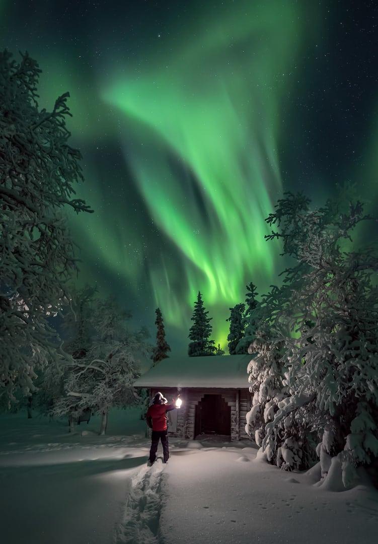 Pallas Finlandia Aurora Boreal