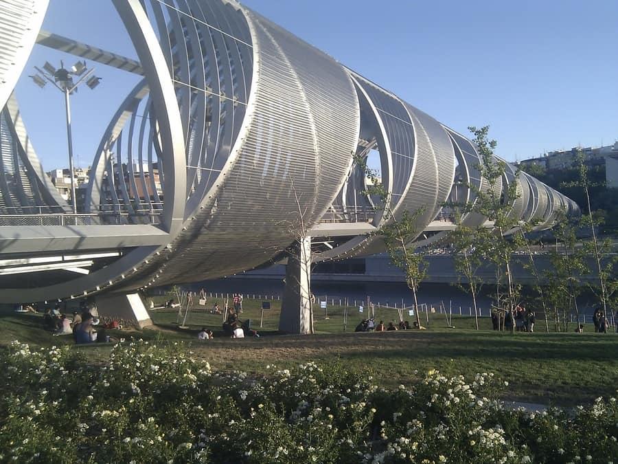 Parque Madrid Río, puntos de interés de Madrid