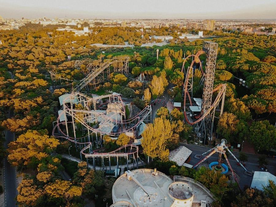 Parque de atracciones de Madrid, Madrid que hacer con niños