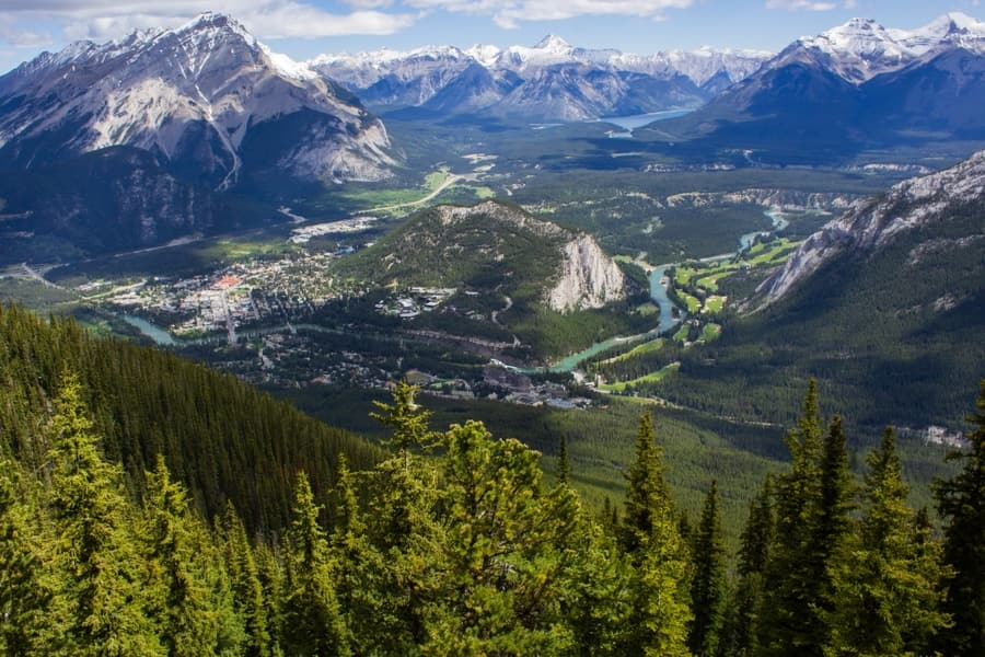 Teleférico de Banff, Banff que hacer