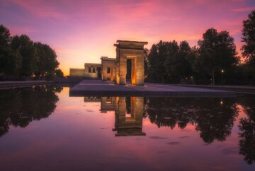 Things to do in Madrid Spain, best places to visit debod temple