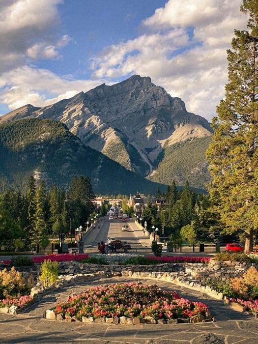 Caminar por el centro de Banff, actividades en Banff