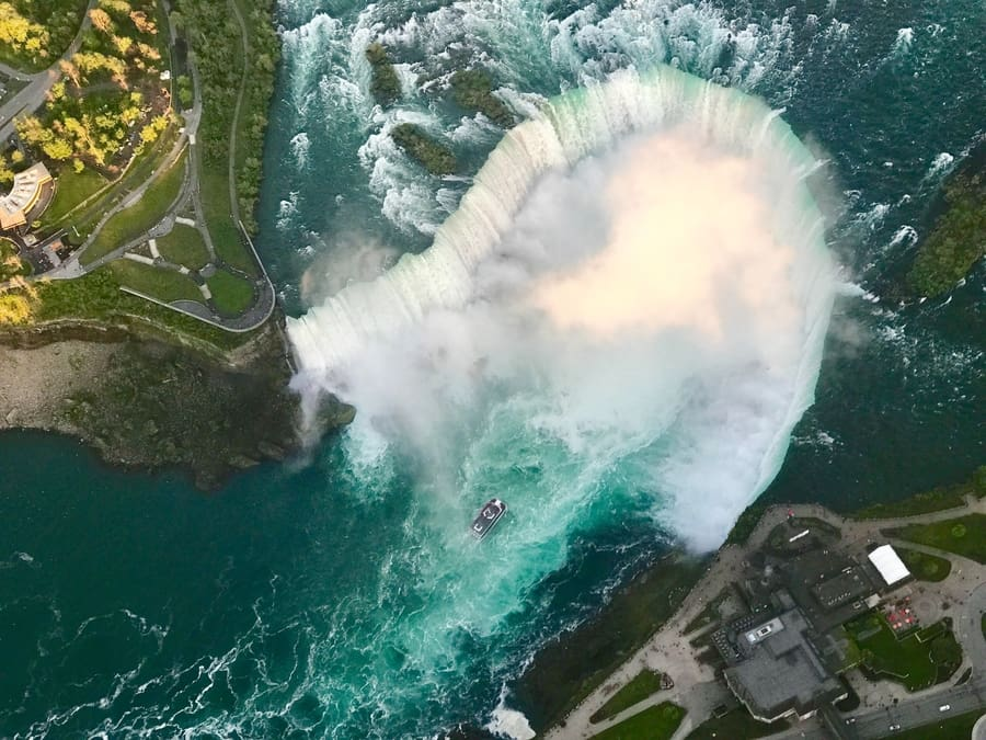 Niagara Falls Helicopter Tour, travel tips Niagara Falls