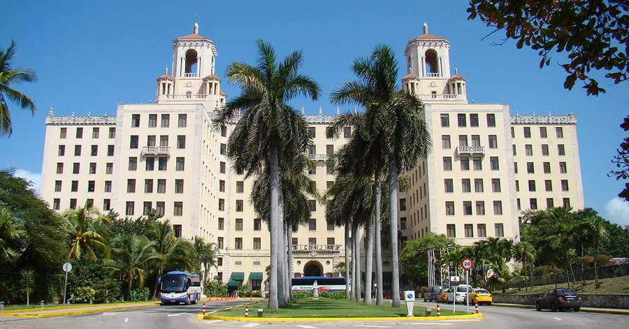 Hotel Nacional de Cuba, where to go in Cuba