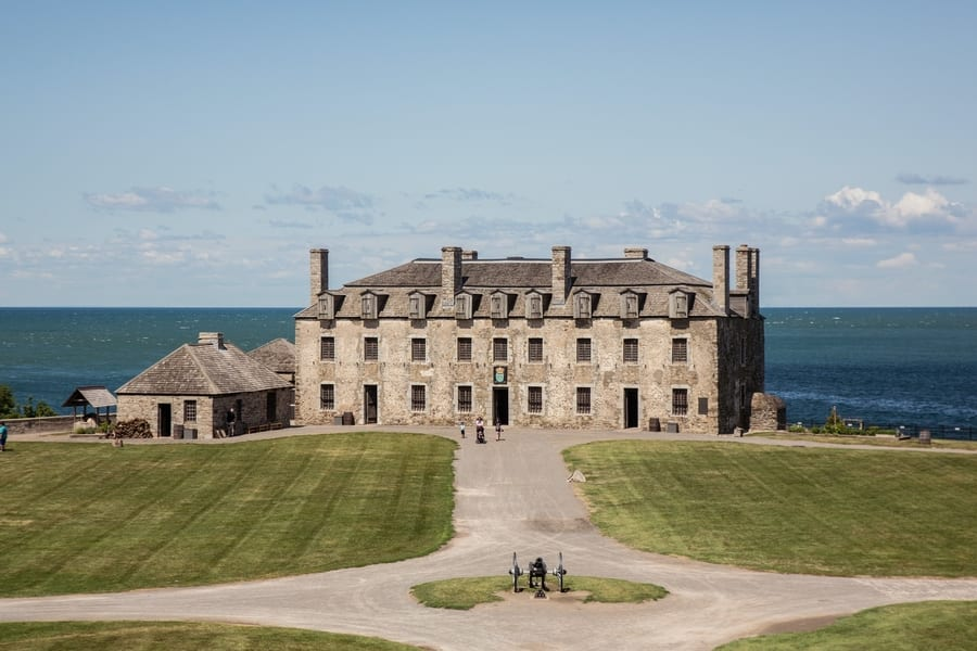 Old Fort Niagara, visiting Niagara Fall