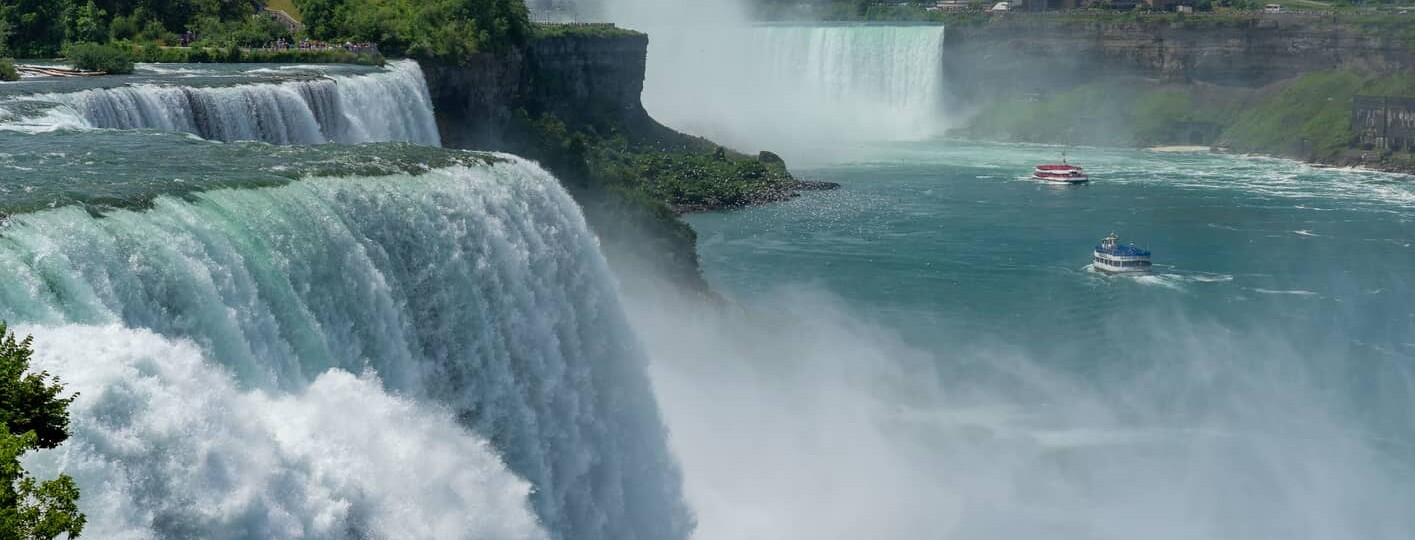 Prospect Point and the American Falls Viewing Area, a great place to go in Niagara Falls, NY