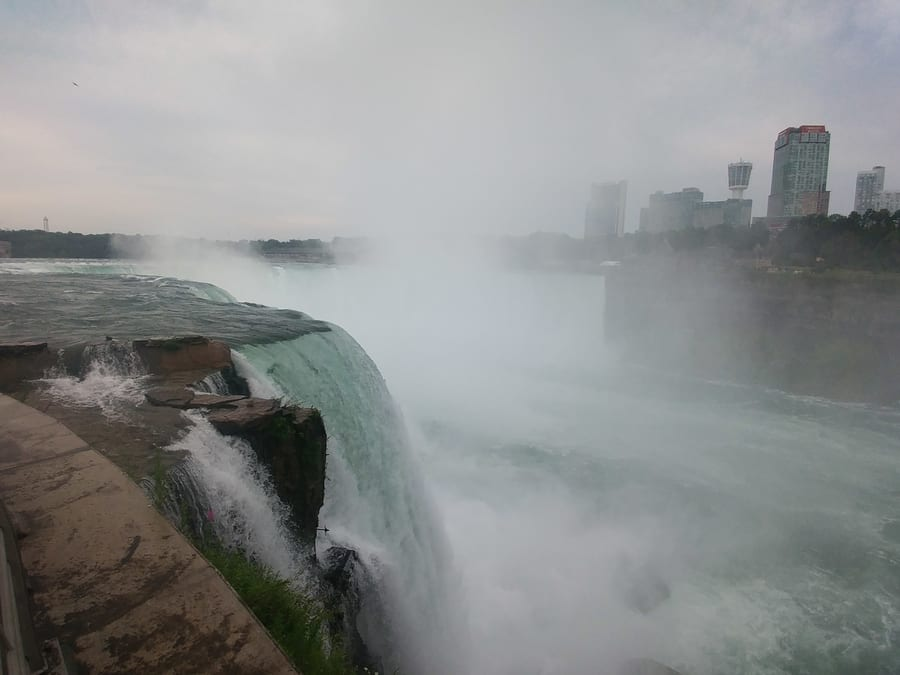 Terrapin Point at Goat Island, Niagara Falls US side