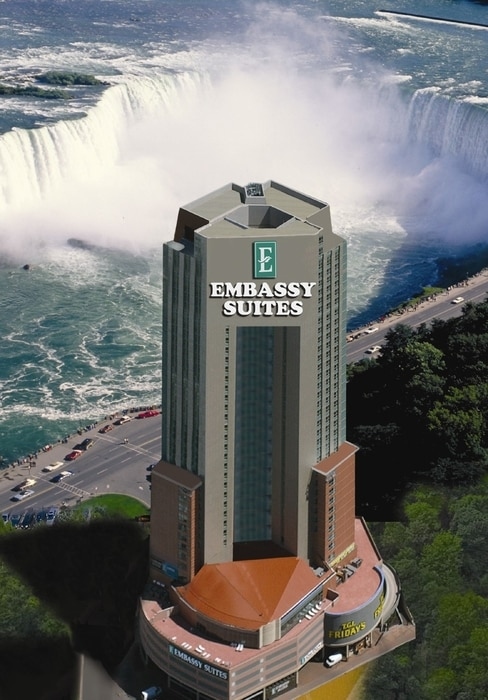 Embassy Suites by Hilton Niagara Falls/Fallsview, where to stay in Niagara Falls, Canada