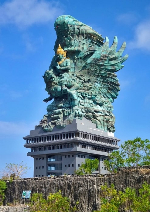 best places to visit in bali garuda wisnu kencana