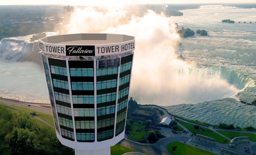 Tower Hotel at Fallsview, where to stay in Niagara Falls, Ontario