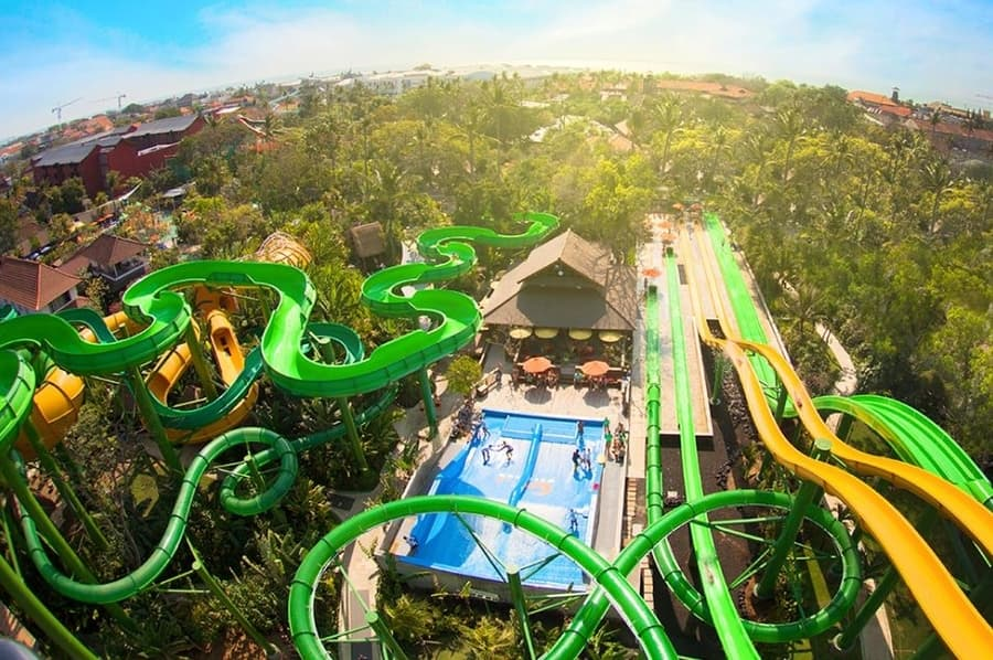 waterbom the best water park in bali and asia