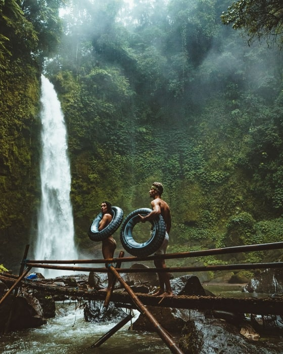 best waterfalls to visit in bali nungnung waterfall