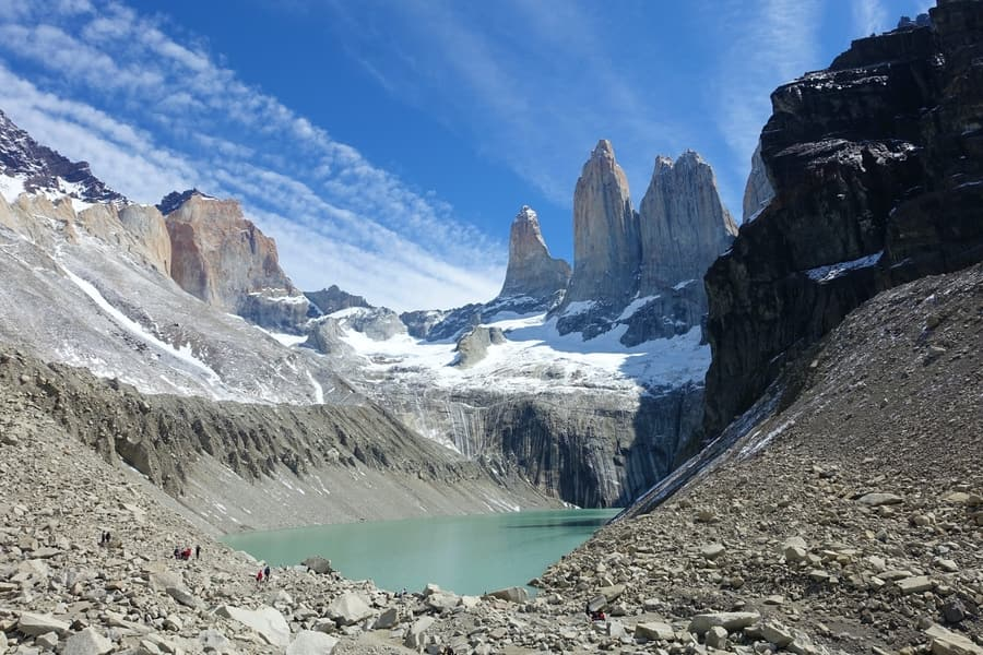 Chile, South American borders