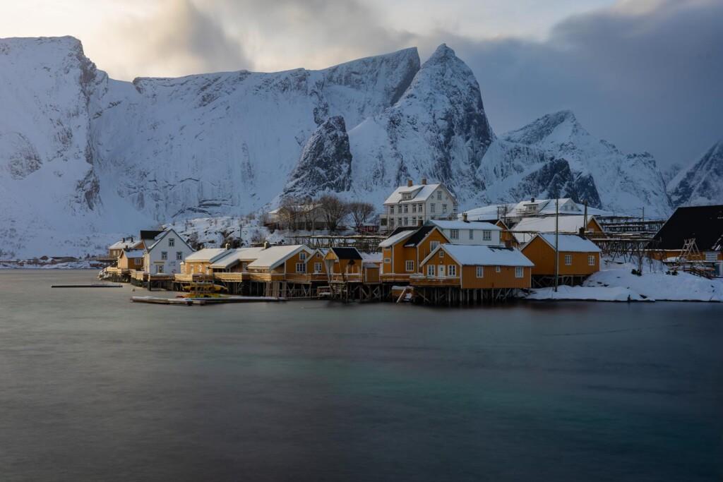 Sakrisøy, Islas Lofoten